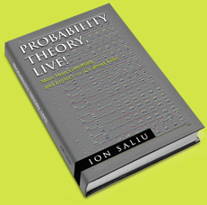 Theory of Probability Book founded on valuable mathematical discoveries applied to gambling, roulette.